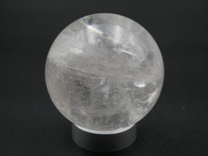 Clear Quartz Sphere (Crystal Ball)