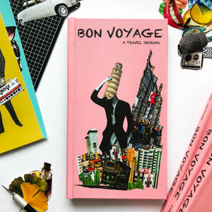 A great travel companion for all travellers & in order to help you plan your trip better, you have collages & sections like  Travel checklist Transport Options Itinerary Food/Restaurant details Travel Prompts Budget planning Sketches,Observations & more