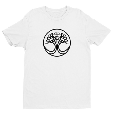 UrbanSap Tree Of Life Premium Fitted Short Sleeve Crew