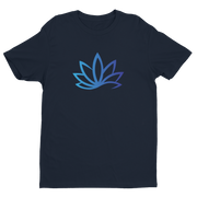 MAHALO Brands Lots Leaf Premium Fitted Short Sleeve Crew