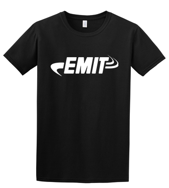 EMIT Softstyle 64000 T-Shirt- Black