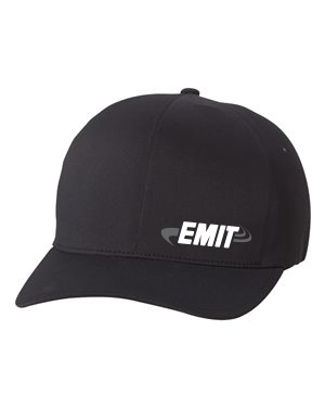 EMIT Black Logo Hat  C938 - Monochrome