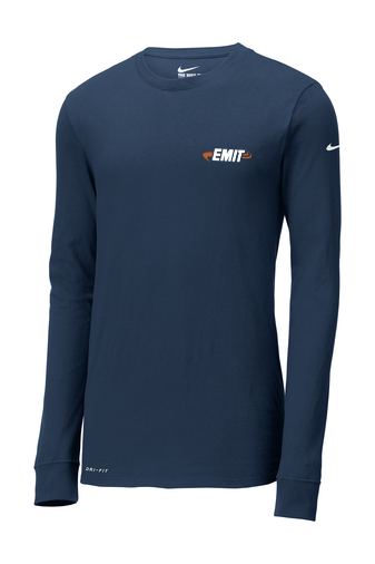 Men's Engineering Nike Dri-FIT Cotton/Poly Long Sleeve Tee