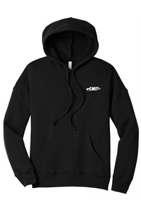 EMIT Hooded Sweatshirt- Black