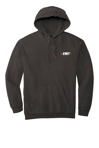 EMIT Hooded Sweatshirt- Charcoal