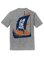 Load image into Gallery viewer, Burn the Boats Tri-Blend T-Shirt DM130 - Grey Frost