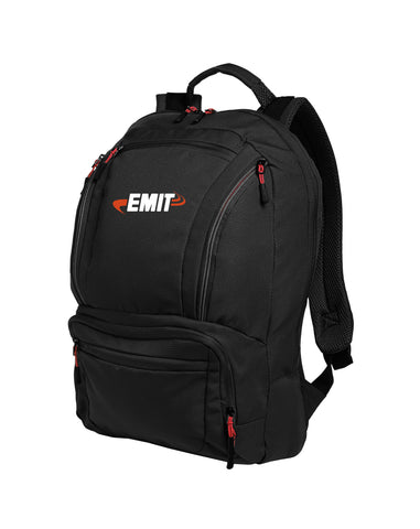 EMIT Cyber Backpack BG200 - Black/Red