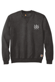 GSD Carhartt Midweight CTK124 Crewneck Sweatshirt - Carbon Heather