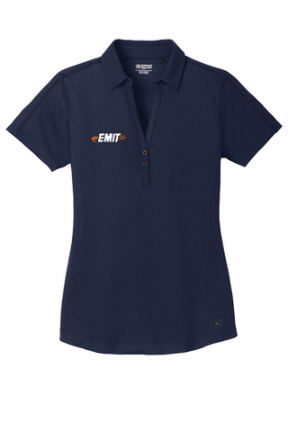 EMIT: (Women's) Ogio ONYX LOG126 Polo- Navy