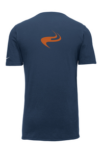 EMIT Nike Dri-FIT Cotton/Poly Tee - Navy