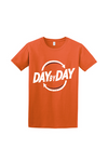 Day by Day Mens Softstyle T-Shirt 64000- Orange