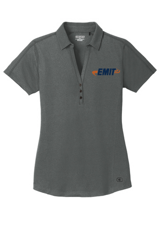 EMIT: (Women's) Ogio ONYX Polo LOG126 -Petrol Gray