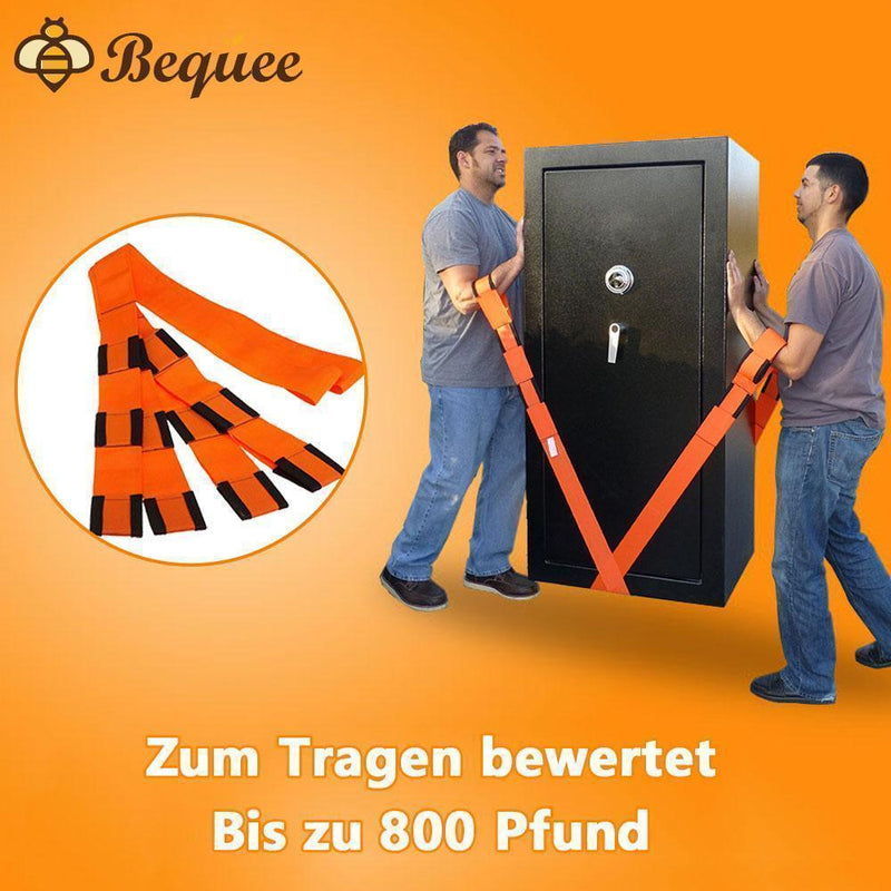 Bequee Lifting and Moving Straps 2 Personen Hebe- und Bewegungssystem - hallohaus