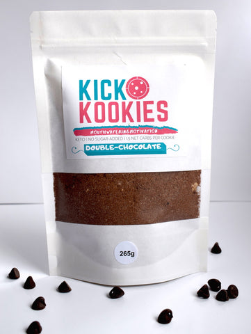 Kick Kookie MIX | Double-Chocolate | 12 Servings