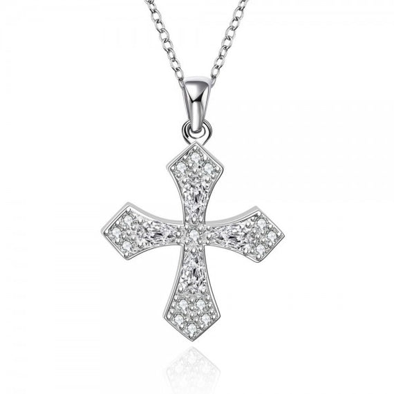 lucy-cross-silver-plated-necklace