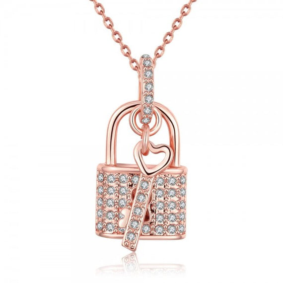 tyra-lock-key-rose-gold-plated-necklace