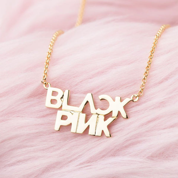 black-pink-18k-gold-plated-necklace