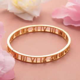 marika-roman-numeral-bangle-stainless-steel-gold-plated