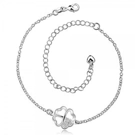 925-silver-plated-four-leaf-clover-anklet