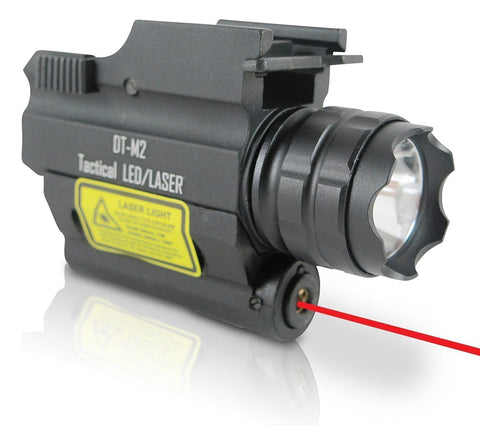 REFURBISHED Rechargeable DT-M2 Red Laser Sight Combo