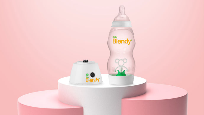 How Baby Blendy Bottles Prevent Gas