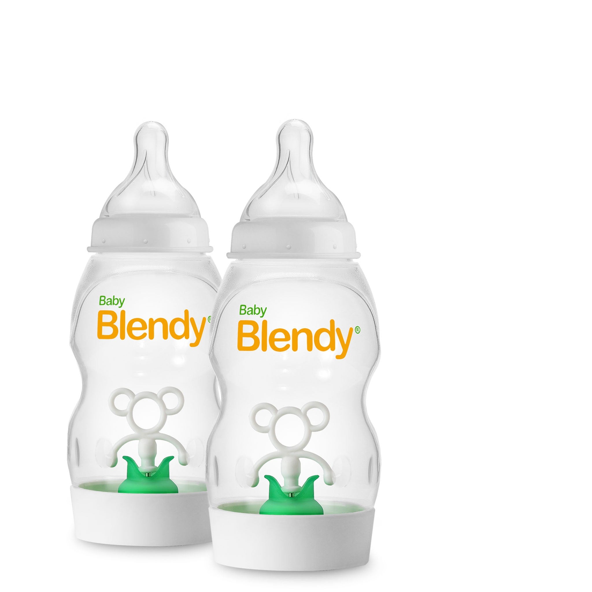 Additional Baby Blendy Bottles (Blender Not Included)