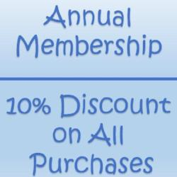 Membership, 1 Year | Books & More Bookstore