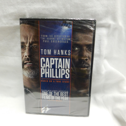 Captain Phillips (DVD, 2014, #41784) | Books & More Bookstore