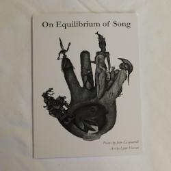 On Equilibrium of Song by John Casquarelli (PB, 2011) First Edition | Books & More Bookstore