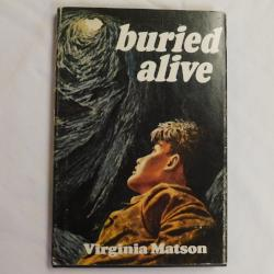 buried alive by Virginia Matson (HC, 1970) | Books & More Bookstore