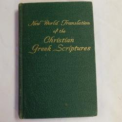 New World Translation of the Christian Greek Scriptures (HC, 1951 Revised Ed.) | Books & More Bookstore