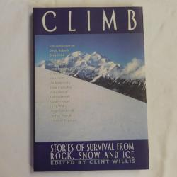 Climb - Stories of Survival from Rock, Snow and Ice (PB, 2000, First Ed.) | Books & More Bookstore