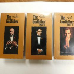 The Godfather, Parts I, II, and III VHS Cassette Tapes 1997 | Books & More Bookstore