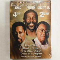 Blood Tide/Deadly Drifter/The River Niger/ Death of a Prophet DVD 2003 | Books & More Bookstore