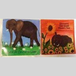 Where do Elephants Live; Elephants Can Smell Flowers Too! by Ilse Louise Meyer, (PB, 2007) | Books & More Bookstore