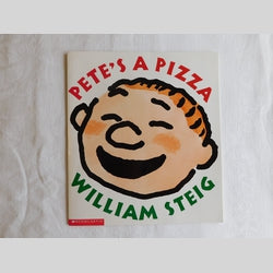 Pete's A Pizza by William Steig (PB, 1999) | Books & More Bookstore