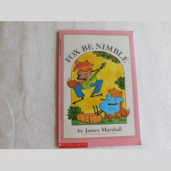 Fox Be Nimble by James Marshall (PB, 1990) | Books & More Bookstore