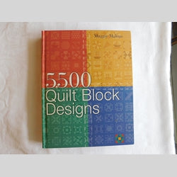 5500 Quilt Block Designs by Maggie Malone (HC, 2003) | Books & More Bookstore