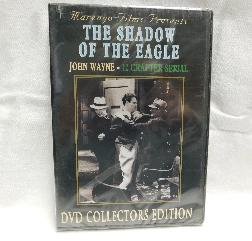 The Shadow of the Eagle, John Wayne 12 Chapter Serial (DVD, 1932, B & W) | Books & More Bookstore