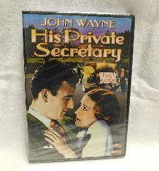 His Private Secretary, John Wayne (DVD, 1933, B & W) | Books & More Bookstore