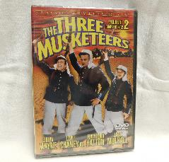The Three Musketeers, Vol. 2, Chapters 7-12 (DVD, 1933, B & W) | Books & More Bookstore