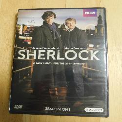 Sherlock - BBC Series Season One (DVD, 2010) | Books & More Bookstore