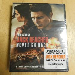 Never Go Back - A Jack Reacher Story (DVD, 2017) | Books & More Bookstore