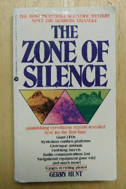 The Zone of Silence by Gerry Hunt (PB, 1986) | Books & More Bookstore