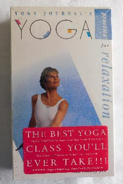 Yoga Journal's Yoga Practice for Relaxation (VHS tape, 1992) | Books & More Bookstore