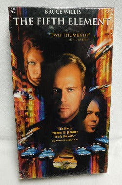 The Fifth Element (VHS, 1997) | Books & More Bookstore