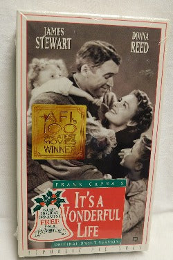 It's A Wonderful Life (VHS, 1993) | Books & More Bookstore