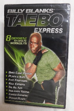 Billy Blanks Tae Bo Express (DVD, 2012) | Books & More Bookstore