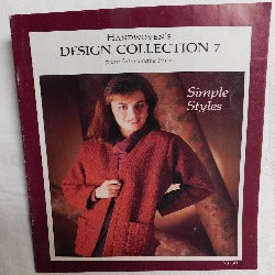 Handwoven's Design Collection 7 - Simple Styles (Booklet, 1985) | Books & More Bookstore