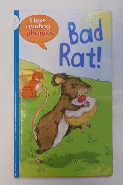 Bad Rat! by Karen Wallace (HC, 2013) | Books & More Bookstore